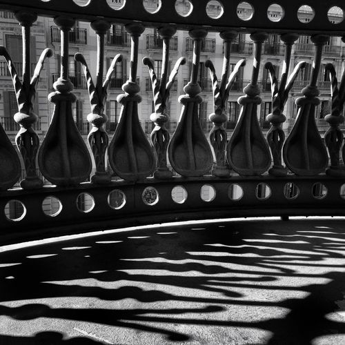 147 / 365 Architectural Detail Architectural Feature Balcony Balcony Shot Contrast And Lights Decoration Design Indoors  Ironwork  Organic Shapes Organic Shapes In Architecture Shadows & Lights Silhouette Silhoutte Photography