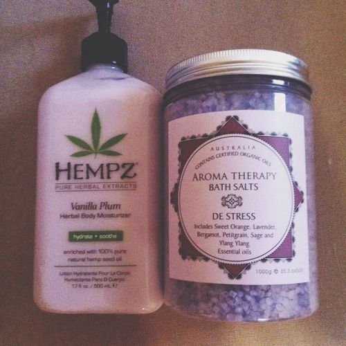 Bathsalt Lotion Hempz