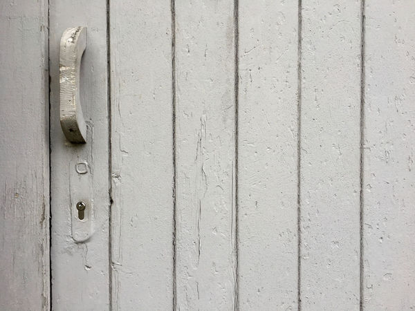 Old wooden door with gray paint as background Architecture Paint Panel Renovation Retro Backgrounds Close-up Color Day Design Door Full Frame Gray Lath No People Old Old-fashioned Outdoors Pattern Plank Refurbish Safety Structure Textured  Wood - Material