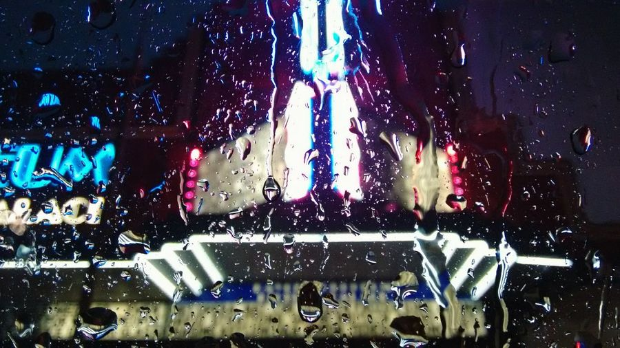 Pouring down in Sydney Rain Cinema