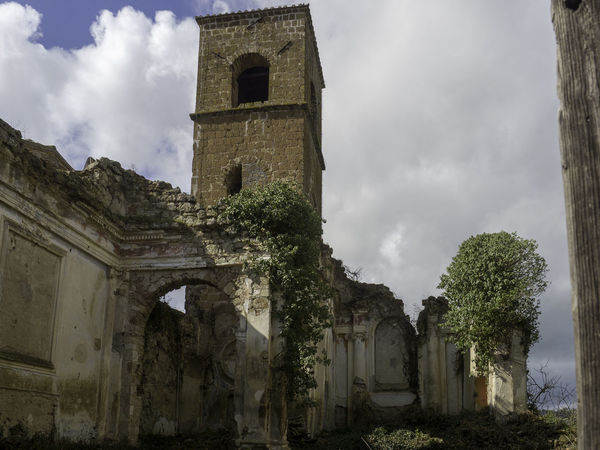 Church Abandoned Abbandoned Ancient Ancient Civilization Architecture Belief Building Building Exterior Built Structure Cloud - Sky History Nature No People Old Old Ruin Outdoors Place Of Worship Religion Ruined Sky Spirituality The Past Village