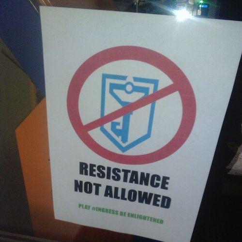 Лол Ingress Resistancenotallowed Beenlightened Enlightened resitance ingressykt