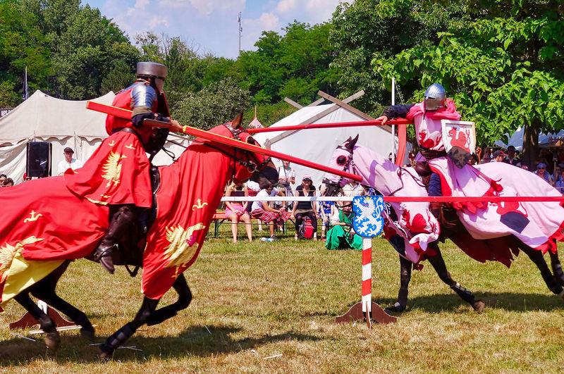 Knight games at