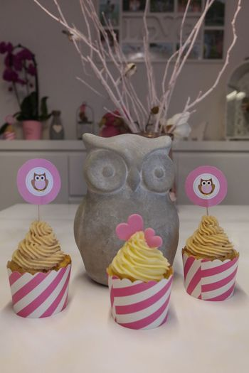 Baby Babyparty Tortenpost Cupcakes Pink Sweet Girl Love Owl