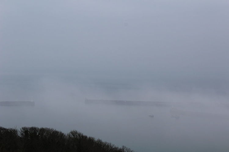 Dover Harbor Fog Harbour Nature No People Outdoors Scenics Seaport Tranquil Scene Tranquility Water