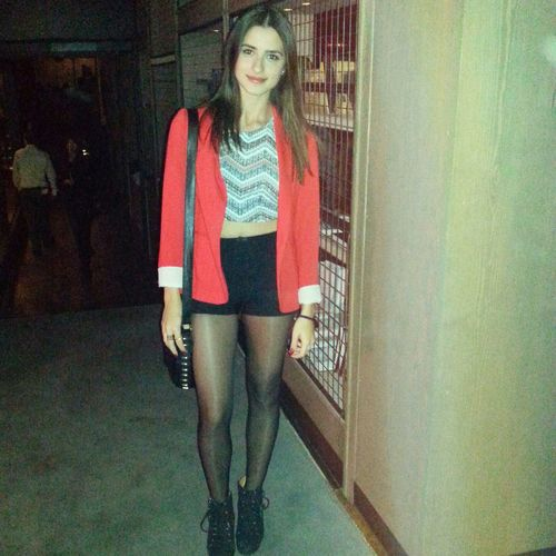 Holiday Red ^ Today's Hot Look Ootd Photooftheday Taking Pictures Nightout Photoopp