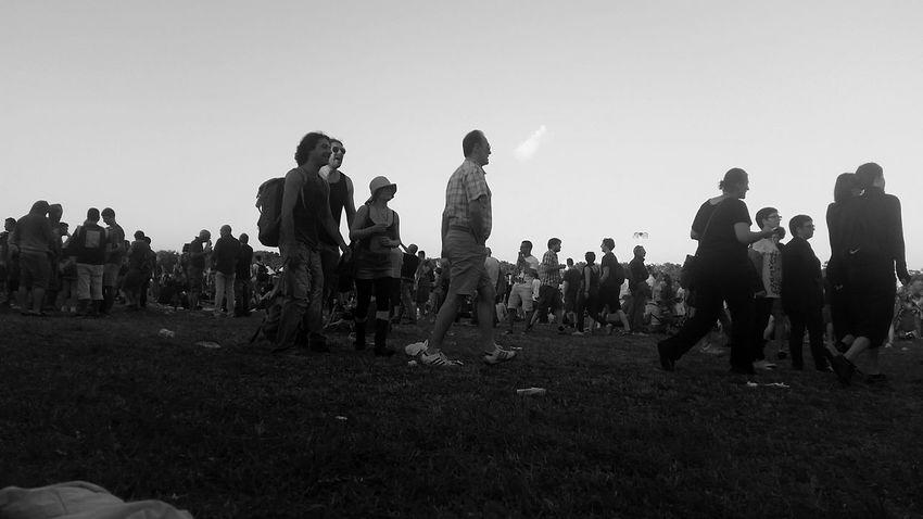 Manu Chao Tour La Ventura Monza Concert Great Atmosphere Monochrome