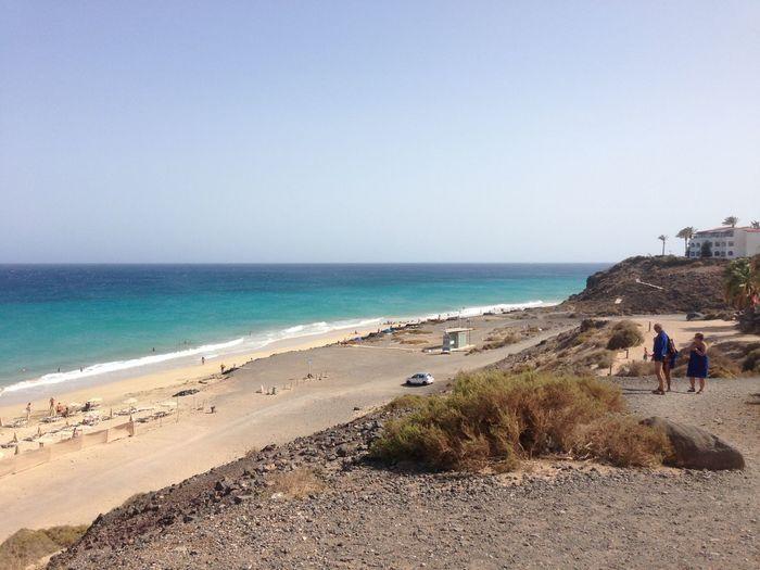 Beach Clear Sky
