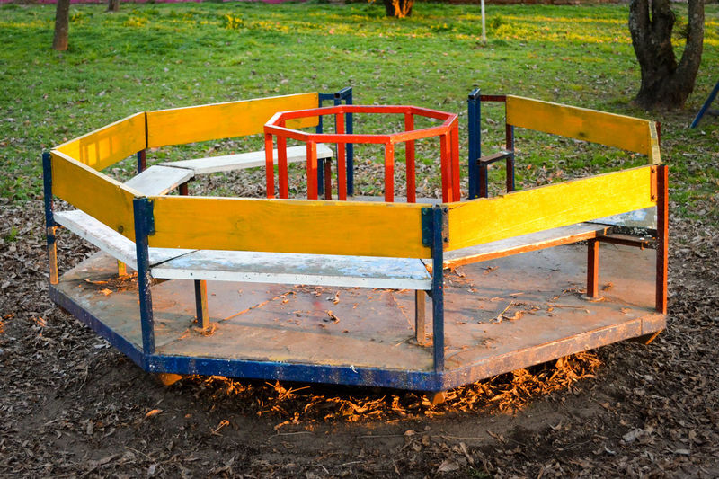 Merry-go-round at park