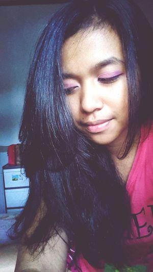 Having fun! Pink Beauty Makeup Hi