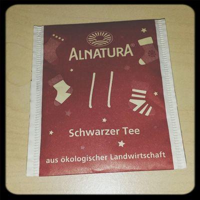 Purer Schwarztee hat mir noch nie geschmeckt... Tea ALNATURA