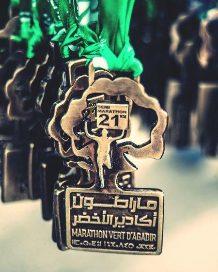Agadir EyeEm Selects Maroc Morocco Marathon Medaillon Orthographic Symbol Text Close-up Logo Symbol