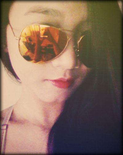 Selfie ✌ Mirror<3 Love ♥ Rayban Style haha