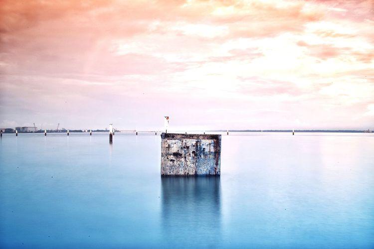 alone Water Sea