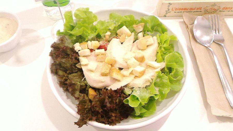 Taste Good Food♡ Food Photography Foodporn Salad Caesarsalad Caesar Salad Vegetables