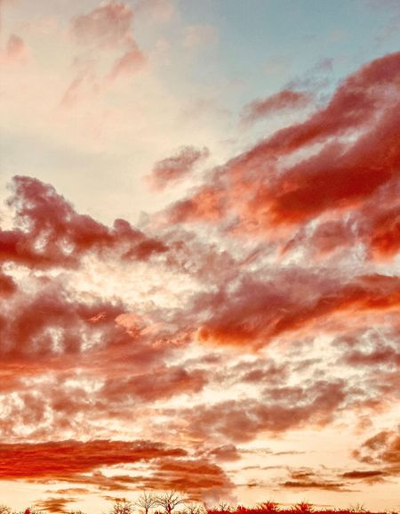 Cappadocia Clouds at Sunset Backgrounds Full Frame No People Sky Cloud - Sky Pattern Textured  Sunset Nature Orange Color Idyllic Beauty In Nature Scenics - Nature Outdoors Close-up Brown Tranquility