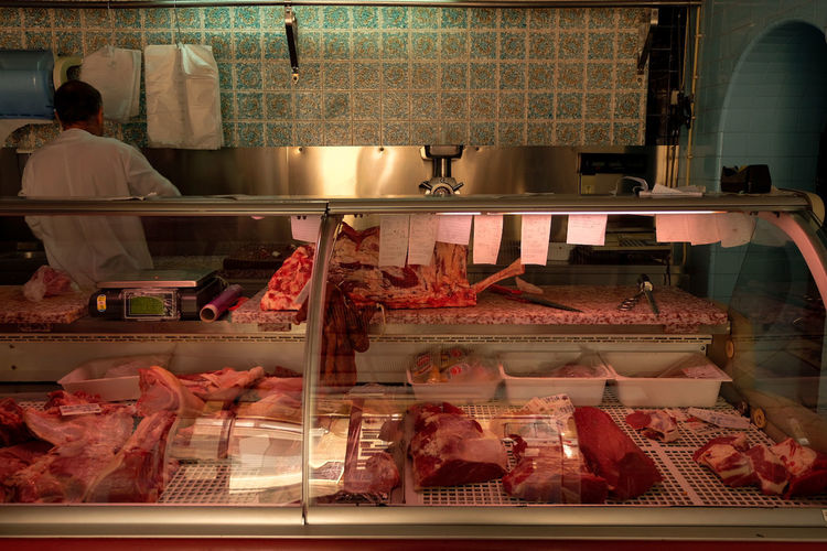 Butcher Everyday Life ShopLocal Store Business Finance And Industry Retail  Variation Food And Drink Butcher
