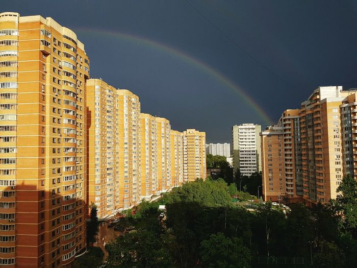 Panoramic View Of City