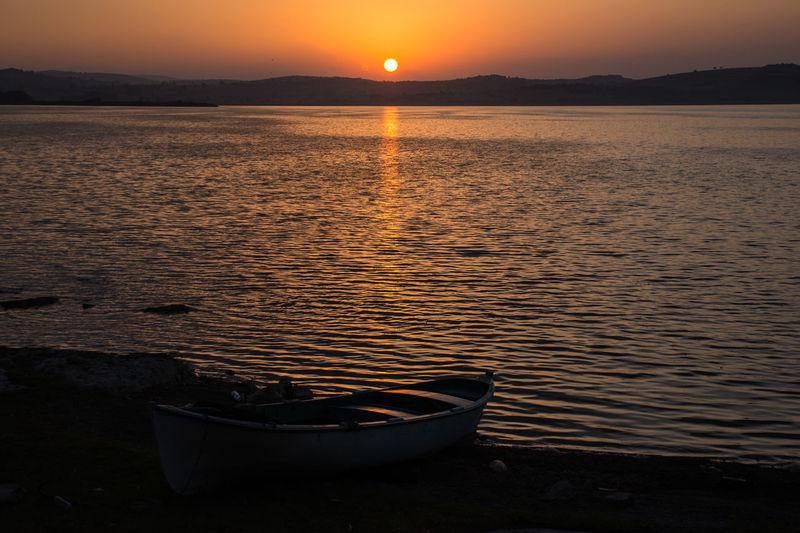 Bursa / Turkey Lakeview Sunrise_Collection Apolyont Flotilla Lake Sunrise Sunrise Porn Sunrise_sunsets_aroundworld See The Light