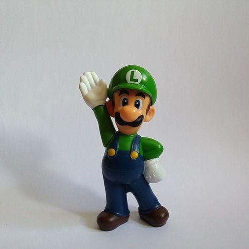 Luigi Supermario Mario Mariobross McDonald 's Brinde Gift Toy Marioworld
