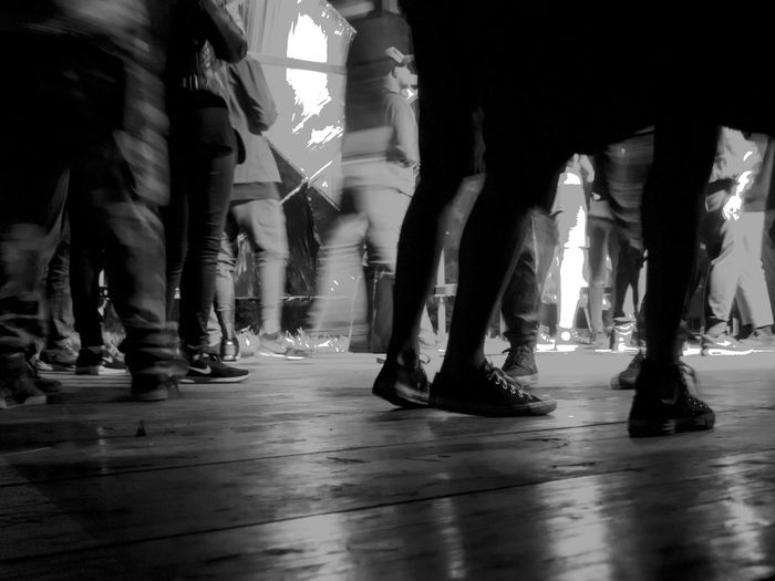.. dance flor Black & White Blurred Motion Body Part Dancing Group Of People Human Leg Nightlife Stage