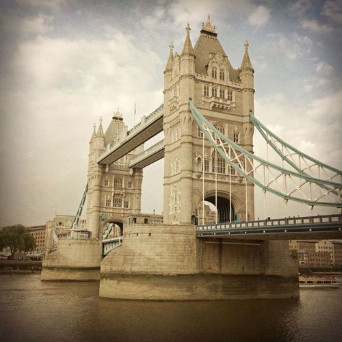 London England & Scotland London England United Kingdom Traveling Sightseeing City Historical Sights Tower Bridge  Holiday