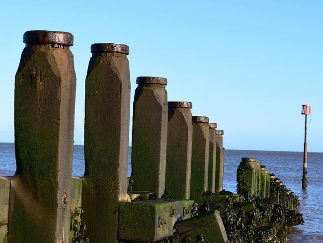 Standing guard Withernsea Sea Groyne East Yorkshire The Place I've Been Today