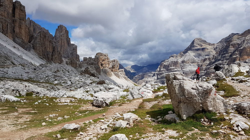 Cortina d'Ampezzo Cortina Landscape Clouds Sky Outdoors Trekking Nature Mountain Photography Mountainside