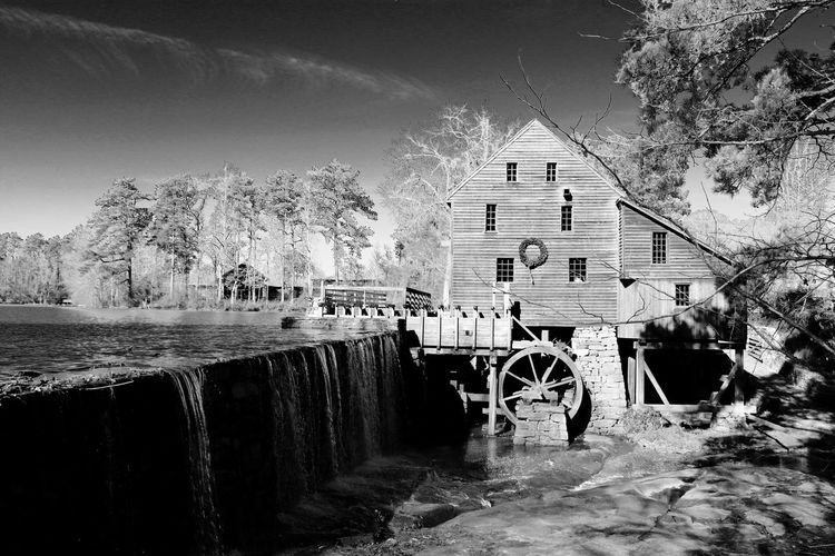 Old fashioned water mill