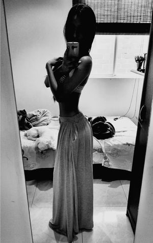 Selfie Colombiagirls Fitness Model