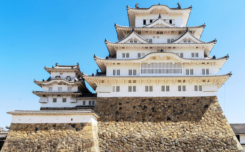 Architecture Built Structure Building Exterior Building Sky Low Angle View Day Clear Sky No People Nature Travel Destinations Place Of Worship Travel Outdoors The Past History Tourism Religion Roof Belief Ornate