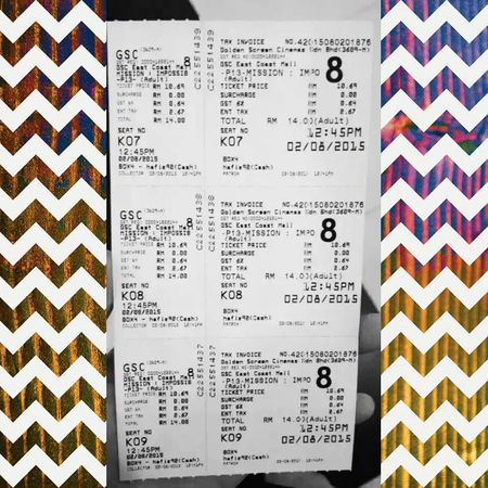 Well day spent with my course mates MOVIE Mission Impossible Tom Cruise