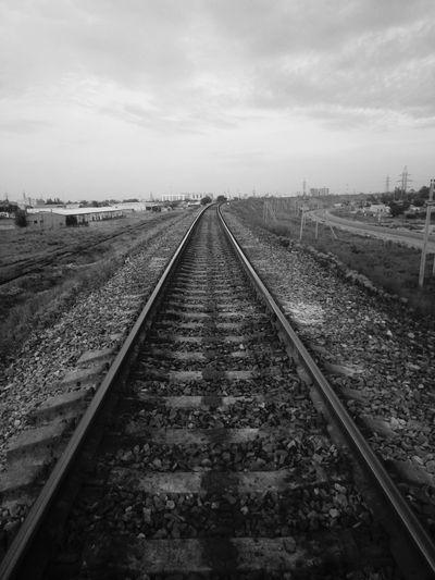 Railroad Track The Way Forward