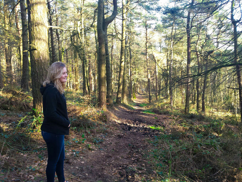 One Person Only Women One Woman Only Tree Adults Only Casual Clothing Women Side View Full Length Forest People Day Outdoors Standing Nature Beauty In Nature Young Adult Yorkshire Landscapes Landscape Ogden Woodland Walk Woods Tree WoodLand BYOPaper! The Great Outdoors - 2017 EyeEm Awards