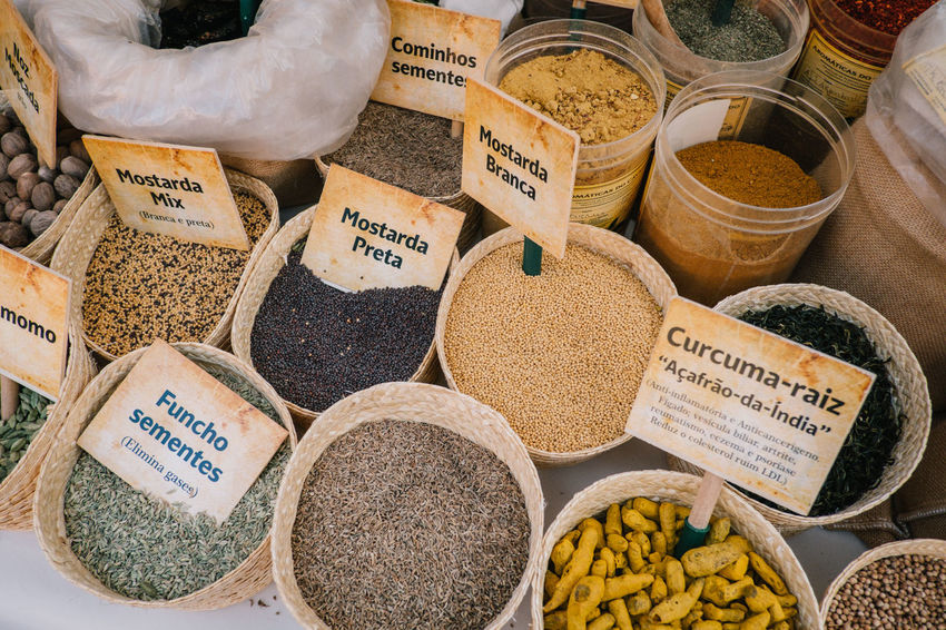 Connected By Travel EyeEmNewHere Abundance Arrangement Choice Communication Dried Food Food Food And Drink For Sale Freshness Healthy Eating Herb Ingredient Label Market Market Stall Multi Colored No People Outdoors Price Tag Retail  Seasoning Spice Store Text Variation