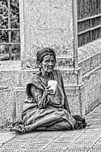 Smiles for a Coin. Urban Photography Somewhere In Mexico Povertychallenge