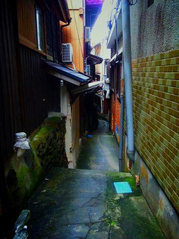 Hoto-island back alley. Oita,japan. Back Alley Back Alleys