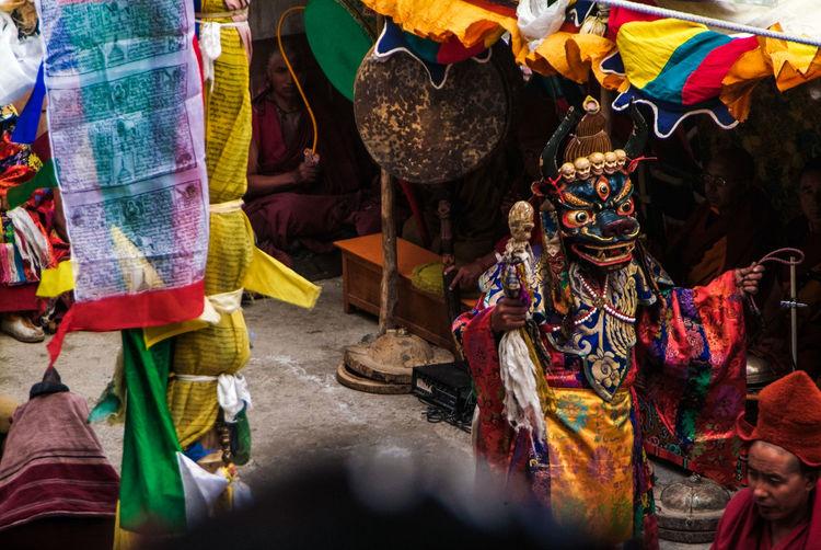 Karsha Gustor at Karsha Gompa in Zanskar Valley Buddhism Culture Cultures Festival Folk Gompa India Jammu And Kashmir Karsha Kursha Ladakh Lama Leh Mask Monastery People Religion Spiritual Spirituality Travel Zanskar
