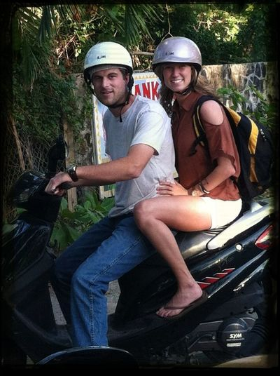 Riding Mopeds