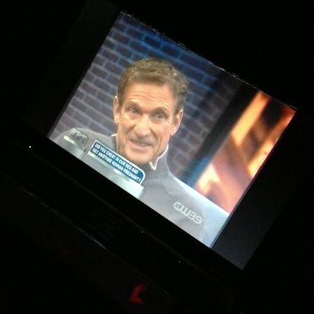 Since I can't sleep, I'm watching Maury