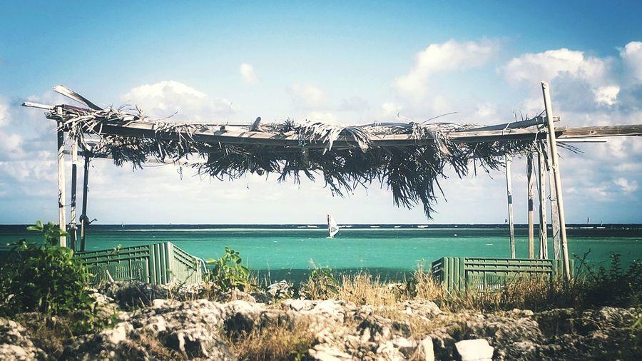 Framed Veil Sea EyeEm Best Shots Outdoor Photography Frame Islandlife Landscape Sunny Day Sea Sports