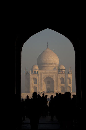 Agra Ancient Civilization Arch Architecture Culture Dome Famous Place History Incredible India India Tourism International Landmark Love Marble Marvel Memories Mosque Mum Seven Wonders Of The World Shahjahan Symbol Of Love Taj Mahal The Past Tomb Tourism Tourist Travel Destinations