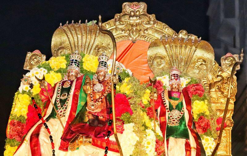 Idol Lord Ram Night Street Darkness And Light Rama Idol No People Multi Colored Close-up