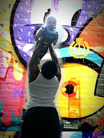 Daddy's pride....♡ Myhappyplace Upallnight Kingsworld MYeverything Daddyandking Myhappiness King NY MyMen Mivida