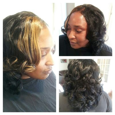 FULL SEW-IN WITH A SOHO CURL