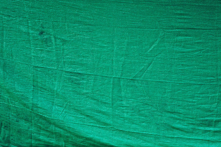 Backgrounds Full Frame Green Color Textured  Close-up Textile No People Pattern Macro Material Extreme Close-up Abstract Industry Indoors  Directly Above Wrinkled Blank Leaf Vein Still Life Rough Textured Effect Turquoise Colored