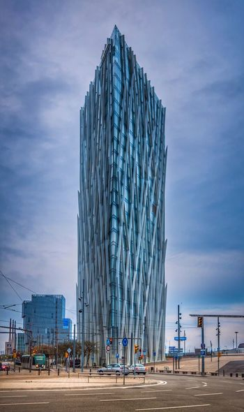 Reedited Barcelona Tower HDR