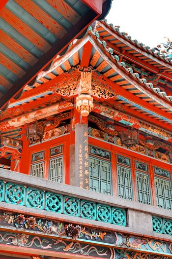 Architecture Built Structure Low Angle View Building Exterior Building Place Of Worship Religion Travel Destinations Pattern Spirituality Ceiling Ornate Outdoors History The Past Craft Belief No People Day Red