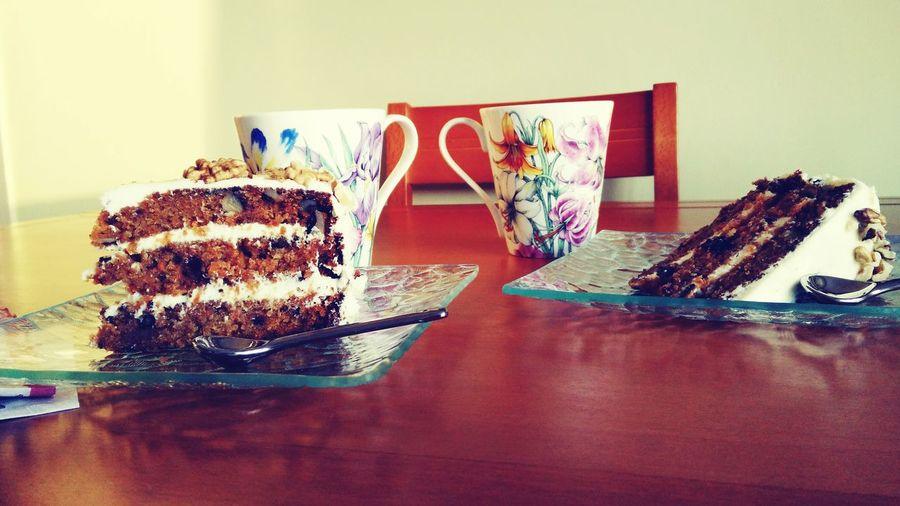 Endulzate Bakery Merienda Para Dos Cake Time Carrotcake SisterLovee ♥ Sweety  Lovecake Coffee And Sweets Home Baking Tiempo de hermanas y dulces vicios!!