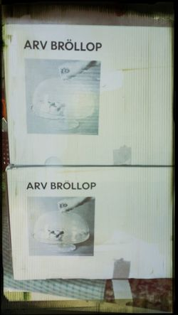 Got 2 Brollops for my 2 Trollops, xx